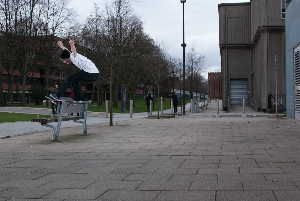 Ben Rowles - Front Feeble Bench - Manchester_