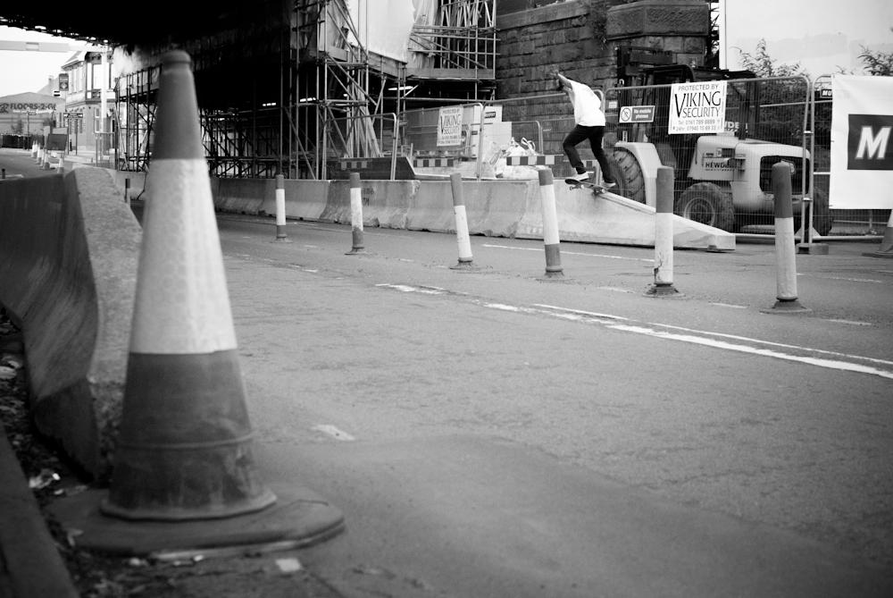 Dan Beall - Crook Jersey Barrier - Sheffield