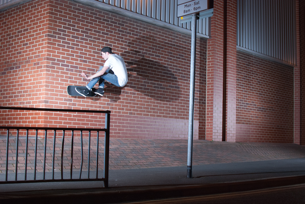 Myles Rushforth - FS Wallride - Leeds