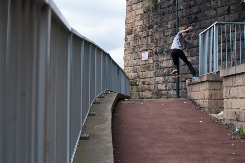 Ash Hall - FS Noseslide - Sheffield