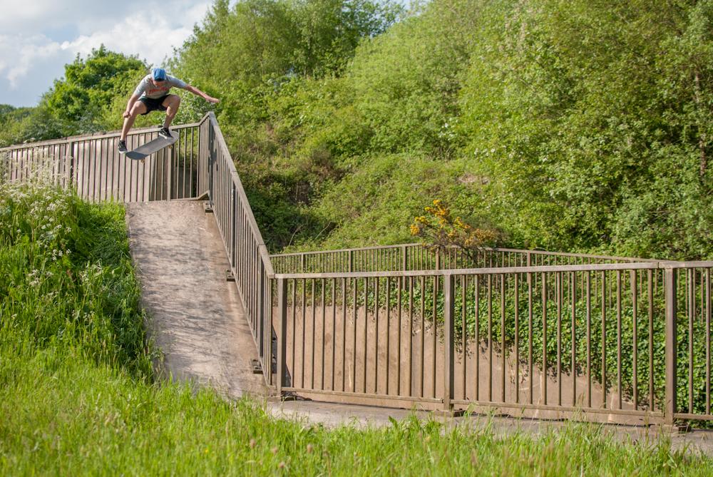 Dan Beall - Half Cab Flip Reserviour - Sheffield