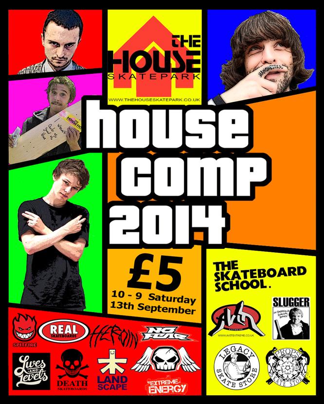House Skate Comp 2014