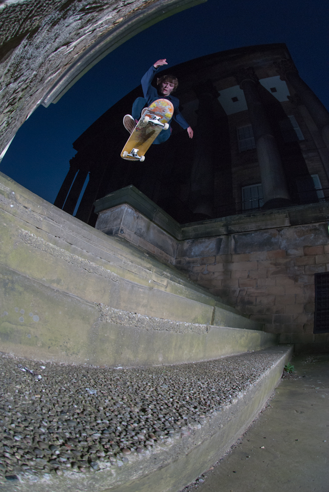 Matlok Bennett Jones - Frontside Bigspin Sheffield