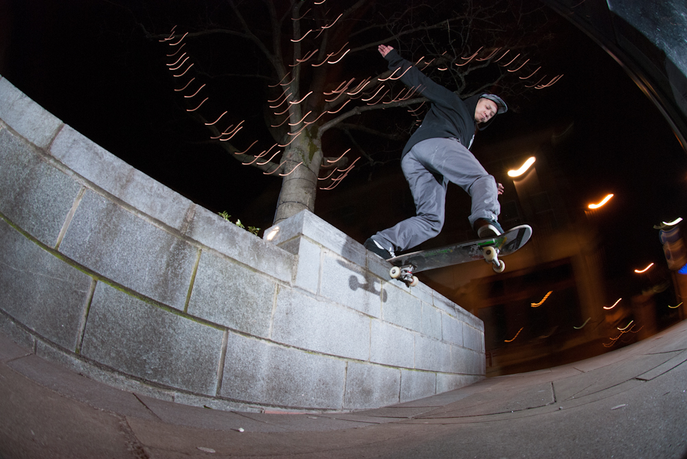 Richard Chung - Bs Tailslide - Crucible Sheffield