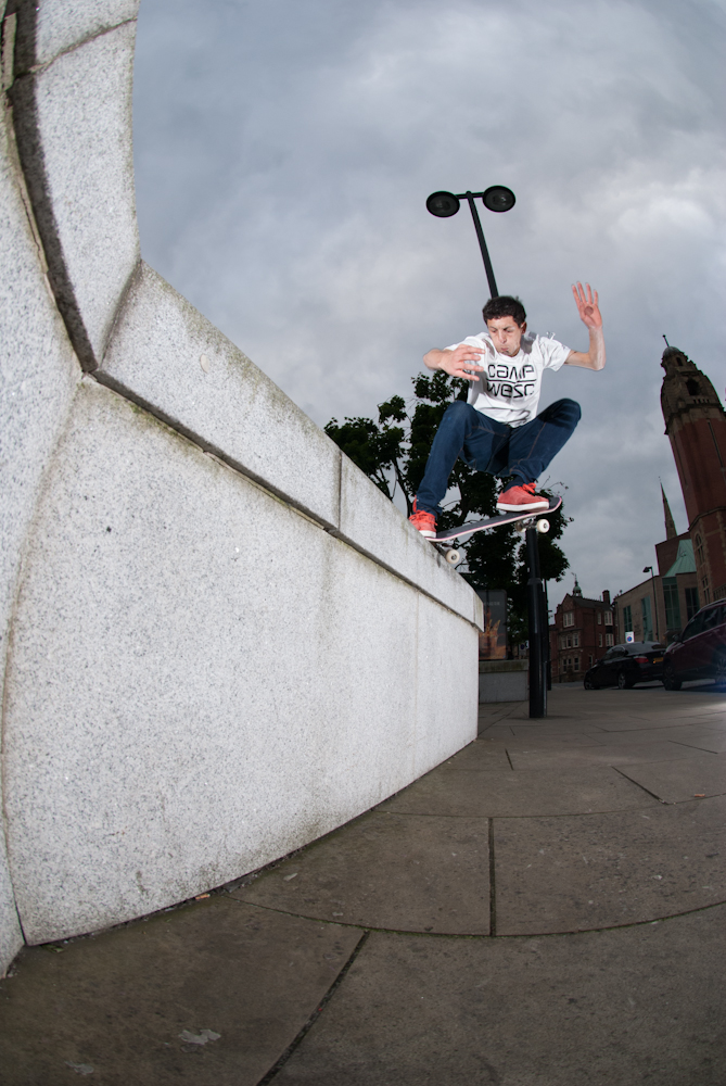 Jonny 5 - Crook- Skint at Ant ledge