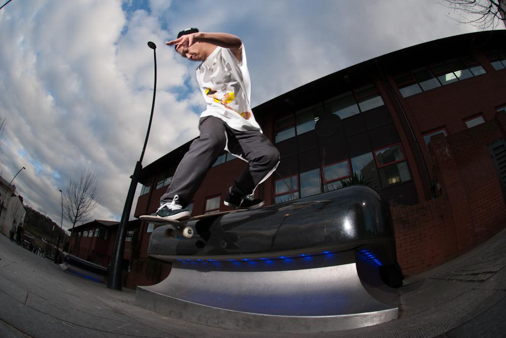 Richard Chung - bs Lipslide - Sheffield