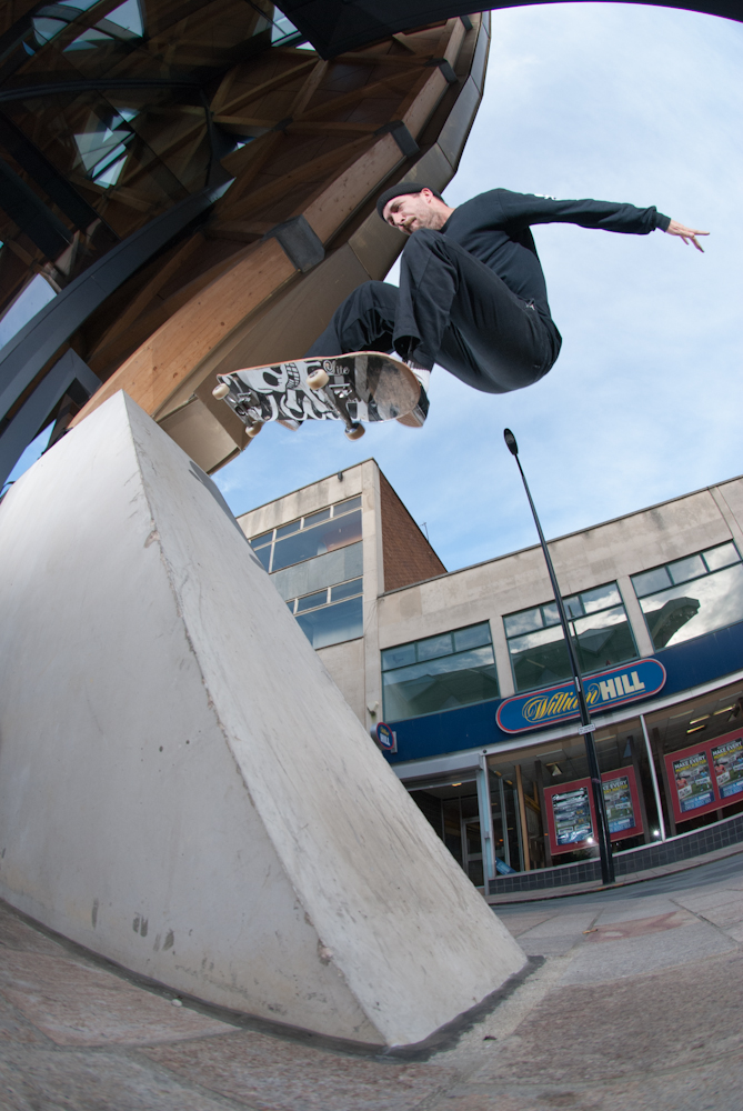 Ronny Calow - Ollie Fakie - The Moor Sheffield