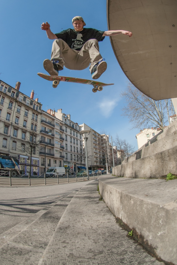 Danny Jones - Kickflip 8 Set - Lyon