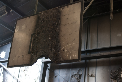 Burnt Backboard