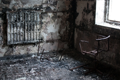 Burnt Out Room Driffield