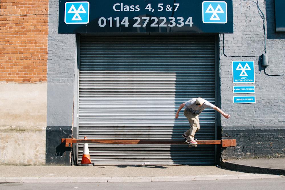 Danny Jones - Bk Tailslide - Sheffield