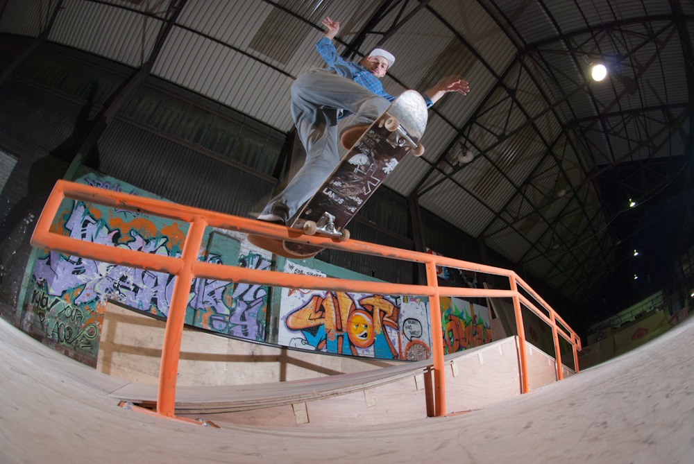 Ash Hall - Fs Bluntslide - The House