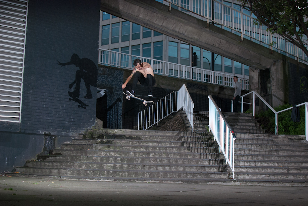 Timmy Garbett - Shifty Flip - Sheffield