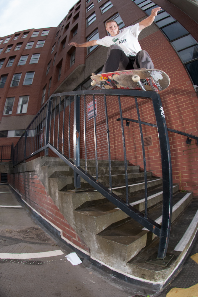 Alex Burrell - 50-50 - St James Sheffield