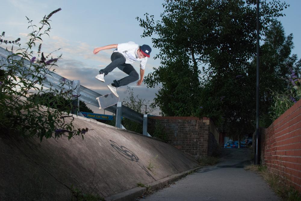 Dan Beall - Kickflip - Sheffield