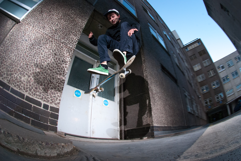 Dan Beall - Fs Flip - Hospital Road Gap Sheffield