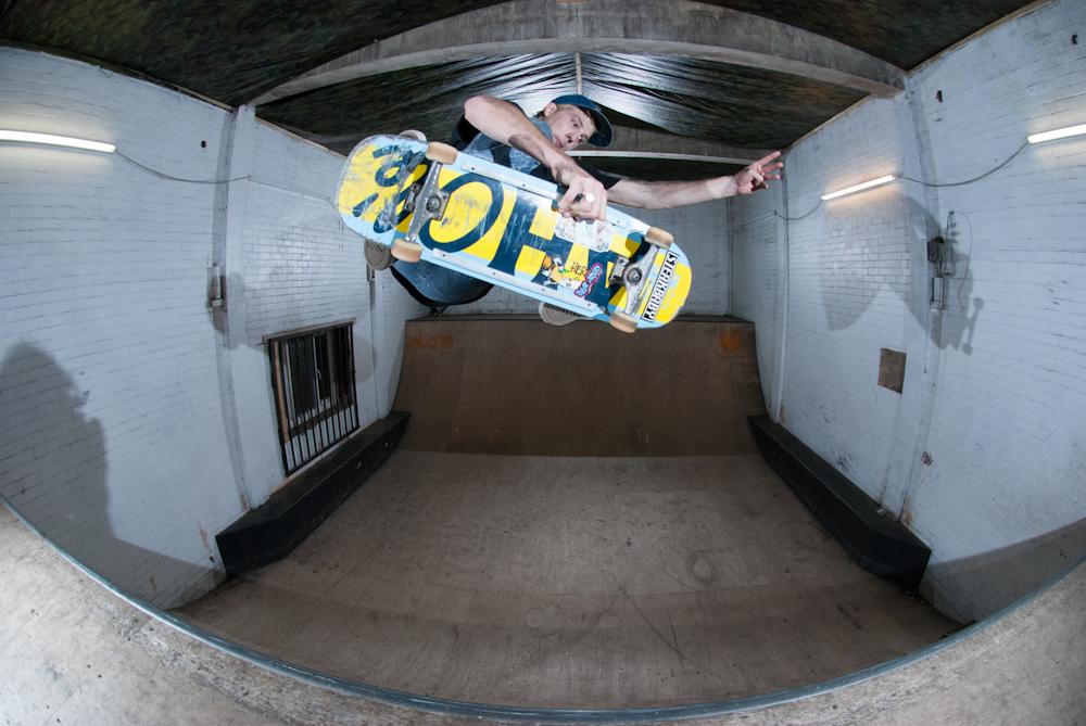 Dave Adlington - Frontside Air - Boom Skatepark