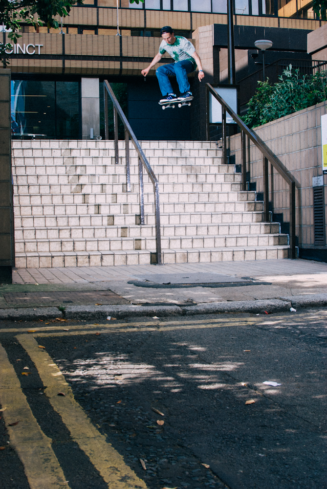 Joe Marks - Nollie - Sheffield