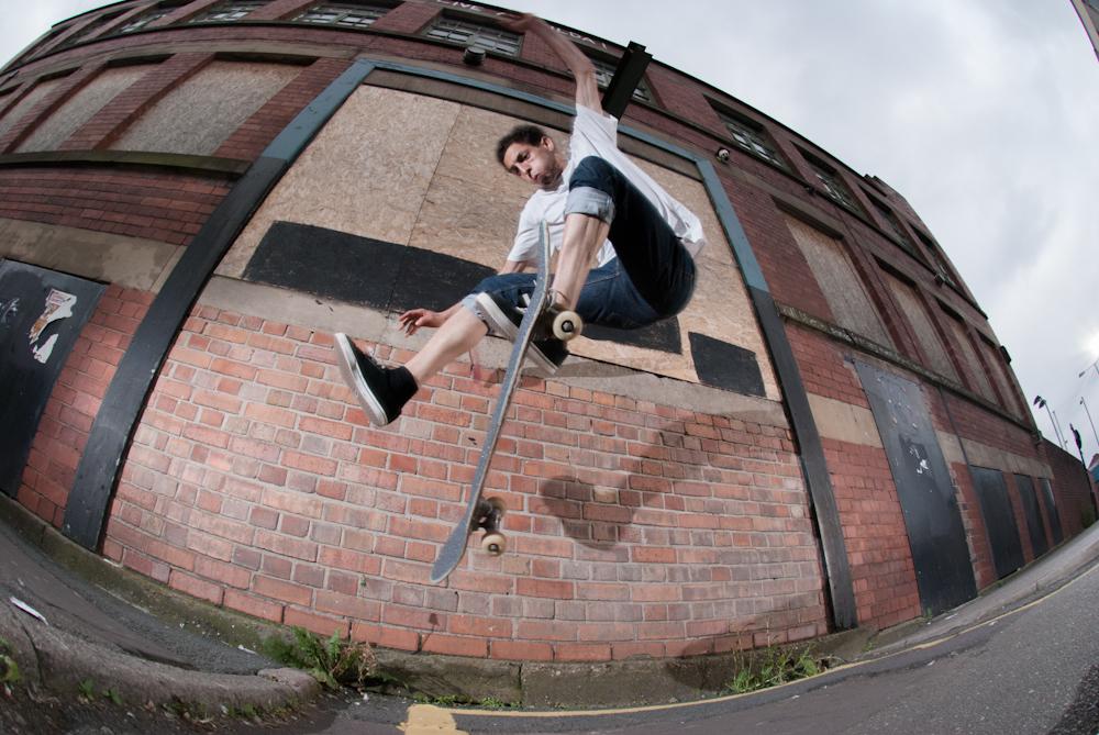Jonny 5 - Tre Flip - Matilda Gap Sheffield