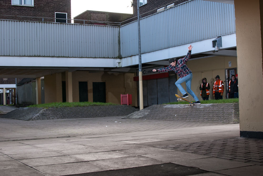 Myles Rushforth - Bs Tailslide Banks - Scunthorpe