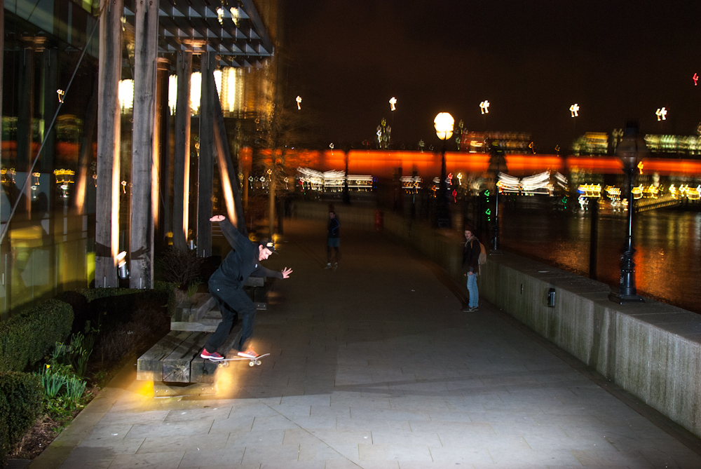 Tristan Rudman - Bk Tailslide - London Waterfront