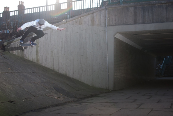 Mark Baines - Bk Flip - Crusty Bank Sheffield